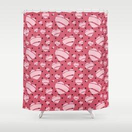 Rock a Billy Heart design - Jezli Pacheco Shower Curtain
