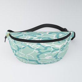 Water Camo Fanny Pack