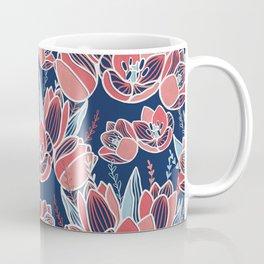 Papercut tulips Coffee Mug