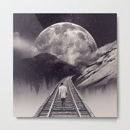Whimsical Journey Metal Print