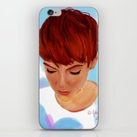 ginger iPhone & iPod Skins featuring Ginger by Adelys