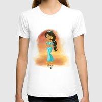 jasmine T-shirts featuring Jasmine by Khatii