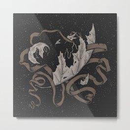 Night falling  Metal Print
