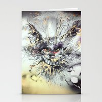 cheshire Stationery Cards featuring Cheshire  by Katerina Chivil