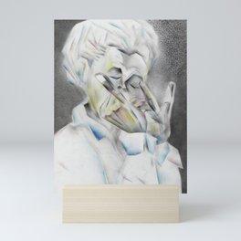 The musician Mini Art Print