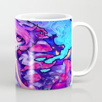 barachan Mugs featuring wraith by barachan