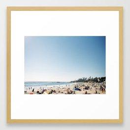 Laguna IV Framed Art Print