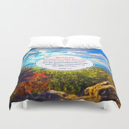Shout for Joy! Duvet Cover