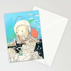 Logic will get you from A to B. Imagination will take you everywhere. Stationery Cards