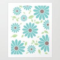 Fashion Flower Art Print