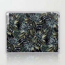 Hidden Creatures - Grey / Khaki Laptop & iPad Skin