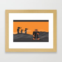 m.eye.cbeth Framed Art Print