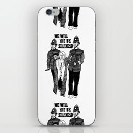 We Will Not Be Silenced III iPhone Skin