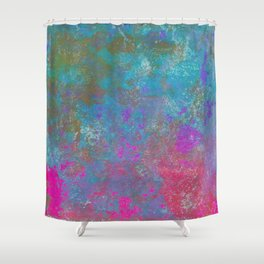 Abstract No. 56 Shower Curtain