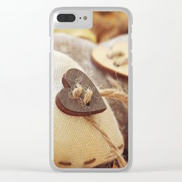 Hearts | Coeurs Clear iPhone Case