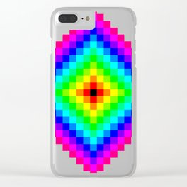 Diamond Stair Stares Clear iPhone Case