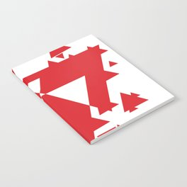 Red Triangles  Notebook