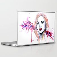 lydia martin Laptop & iPad Skins featuring Lydia Martin by Sterekism