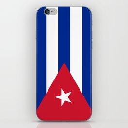National flag of Cuba - Authentic HQ version iPhone Skin