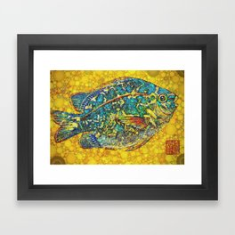 Angel Fish Framed Art Print