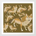Tibetan wolf (pattern) by natachapink