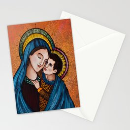 Mary and Jesus Stationery Cards