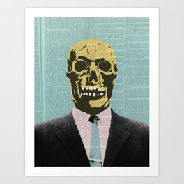 Working Man Art Print