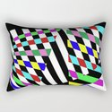 Lost Dimension - Abstract 3D style, multicoloured, geometric artwork by printpix