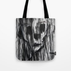 Ghost In the Rain Tote Bag