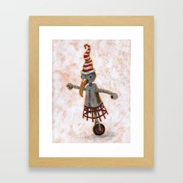 Wheeliebot Framed Art Print