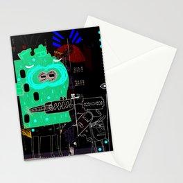La hoja en blanco Stationery Cards