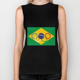 Brazil Olympics Biker Tank