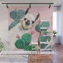 Llama and Cactus Pink by bignosework