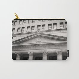Federal Reserve Bank of Chicago Black and White Carry-All Pouch