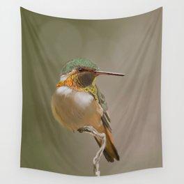 Rufous Hummingbird Wall Tapestry