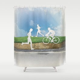 Get Outside Shower Curtain