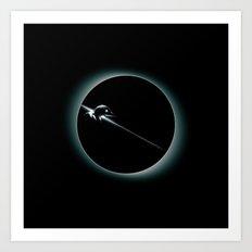::::: Penguin Man ::::: Art Print