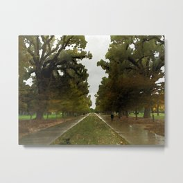 Trees in the Park by LH Metal Print