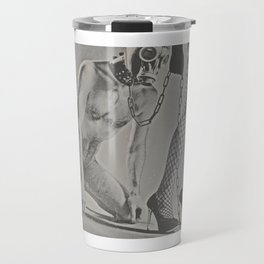 Photograph naked Bdsm Couple - man woman Travel Mug