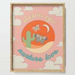 NURTURE LOVE Serving Tray