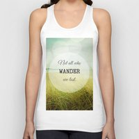 wander Tank Tops featuring Wander by Olivia Joy StClaire