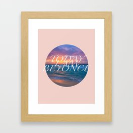 Inspirational Poster Framed Art Print