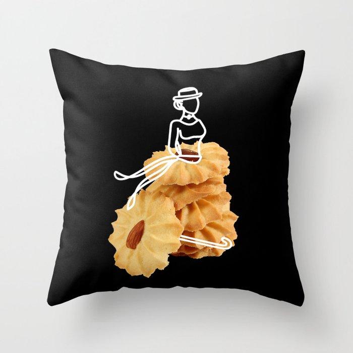 Parasol Cookies Throw Pillow