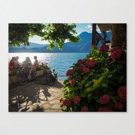 Oh, come on, Lake Como! Canvas Print