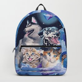 Diamonds Are Furrrever Backpack