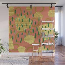 The Golden Jungle Wall Mural