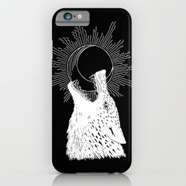 Hati Chasing the Moon iPhone Case