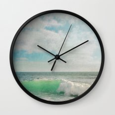 The Painted Sea Wall Clock