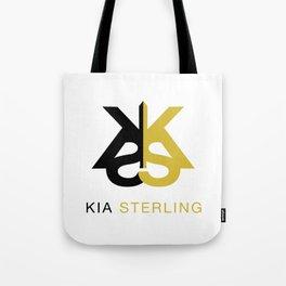Kia Sterling Black/Gold Tote Bag