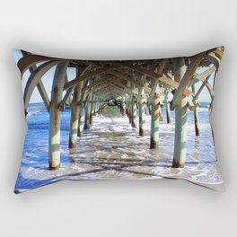 Under the Boardwalk Rectangular Pillow